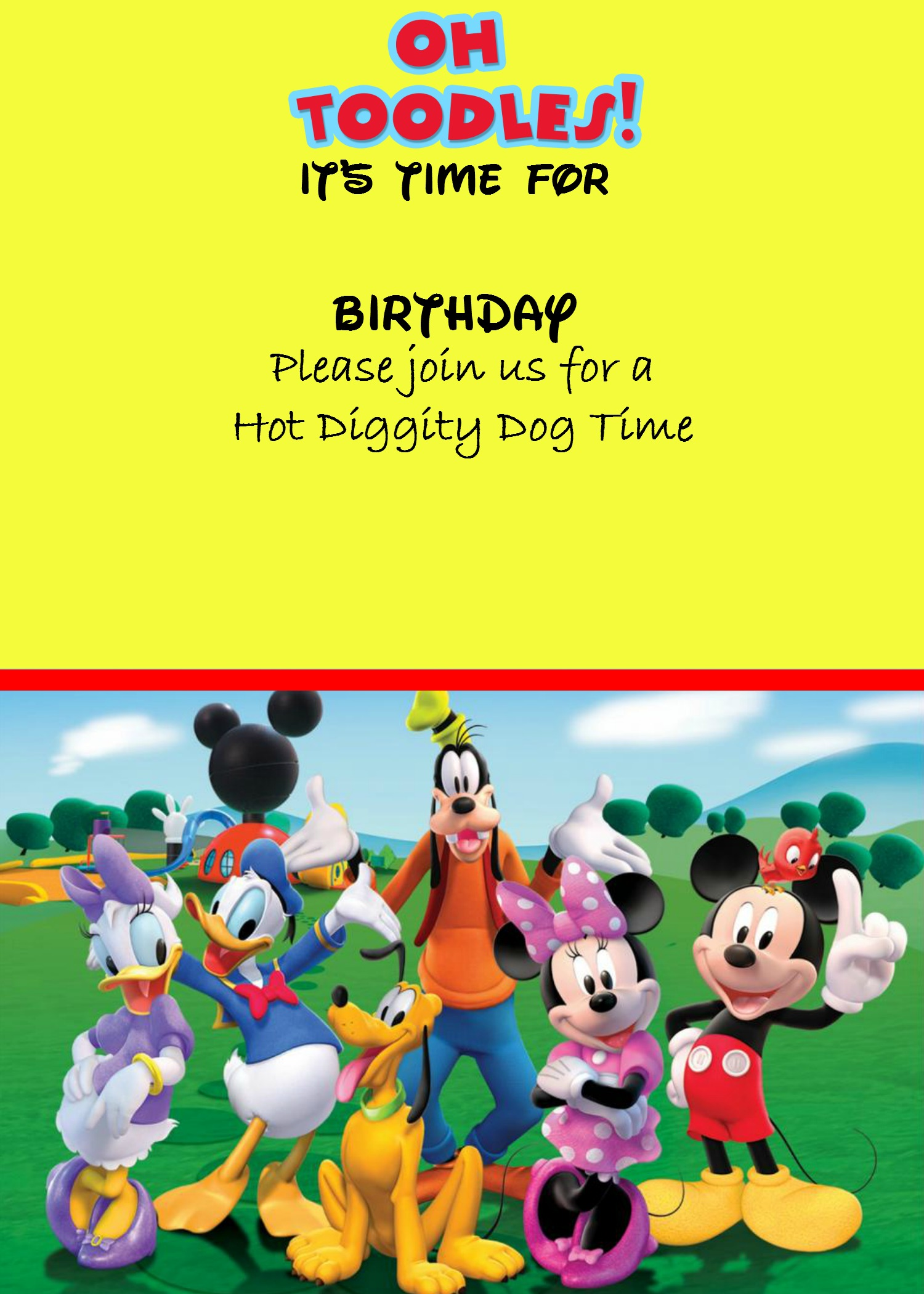 how to make a mickey mouse digital invitation image how to make a mickey mouse digital invitation picmonkey option 2