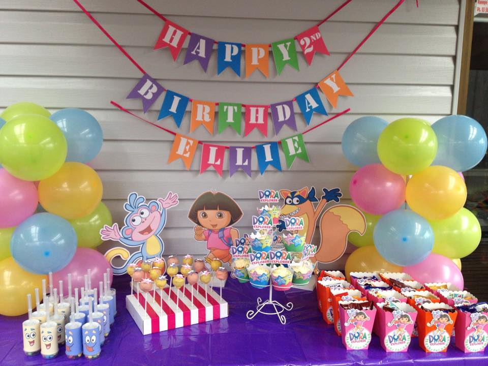 the ultimate dora the explorer party setup + free printables, Birthday invitations