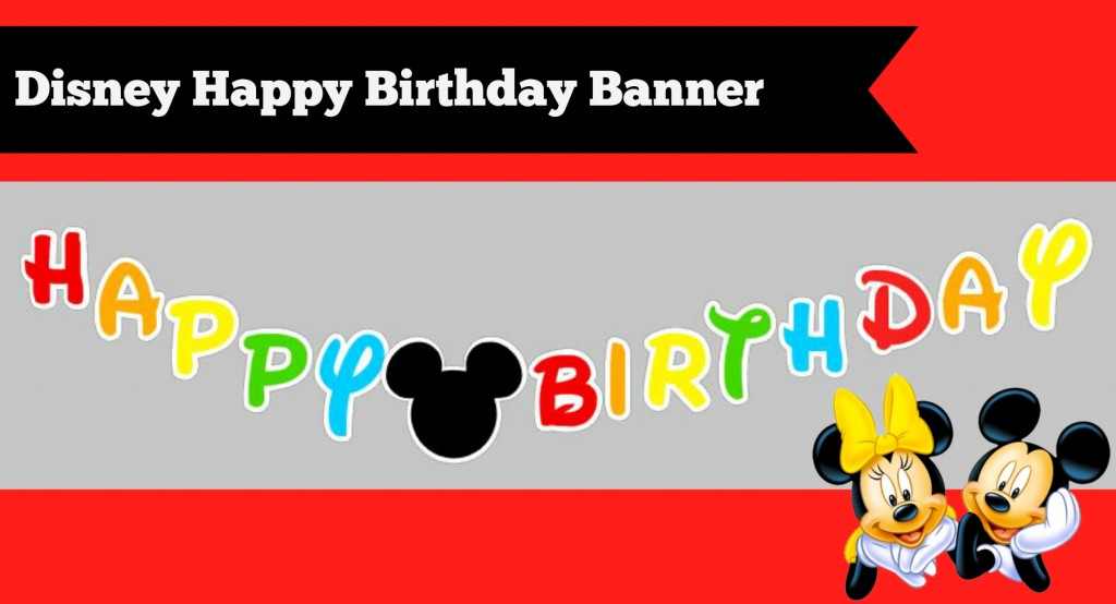 happy birthday banner template .