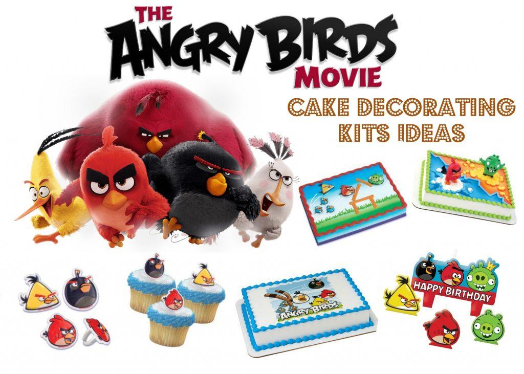 DIY Angry Bird Cake Decorating Kit Ideas @ home, plus FREE ...