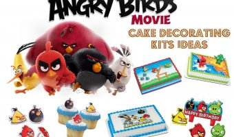 DIY Angry Bird Cake Decorating Kit Ideas @ home, plus FREE printables