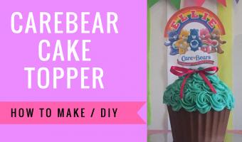 Care Bears Cake Topper  | How To Make DIY
